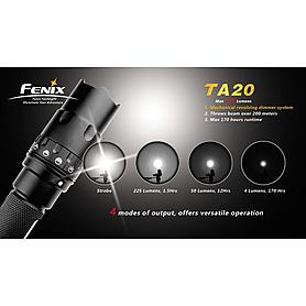 Фото 5 к товару Фонарь тактический Fenix TA20 Cree XR-E LED Premium Q5