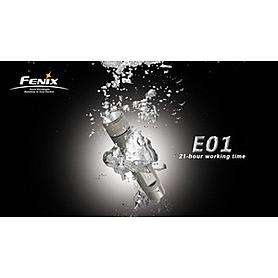 Фото 2 к товару Фонарь ручной FENIX E01 Nichia light GS Led