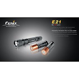 Фото 4 к товару Фонарь ручной Fenix E21 Cree XP-E LED