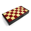 Набор игр магнитный 3 в 1 Leon Magnetic - шашки, шахматы, нарды - фото 1