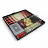 Набор игр магнитный 4 в 1 Leon Magnetic - шашки, шахматы, нарды, карты - фото 1