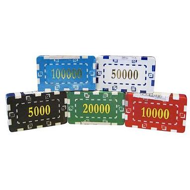 Фишки для покера, 5 шт.