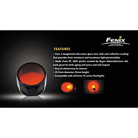Фото 2 к товару Фильтр цветной Fenix для серии фонарей ТК
