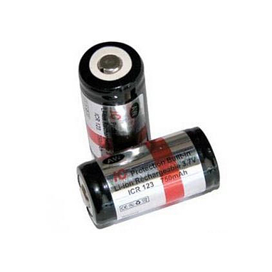 Аккумулятор литиевый 16340 (CR123) 750 mAh