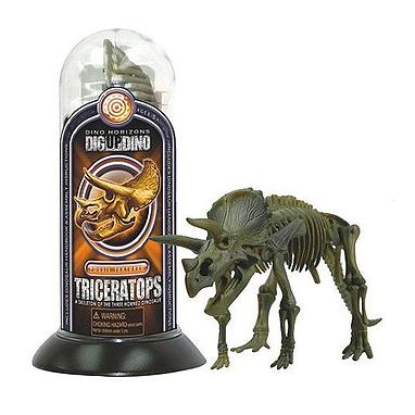 Игрушка скелет Трицератопса Dino Horizons