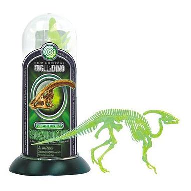 Игрушка светящийся скелет Паразоролафа Dino Horizons
