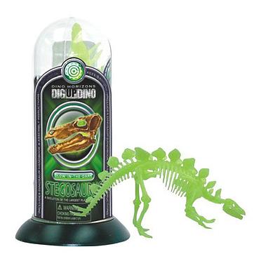 Игрушка светящийся скелет Стегозавра Dino Horizons