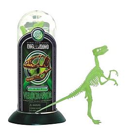 Фото 1 к товару Игрушка светящийся скелет Велоцираптора Dino Horizons