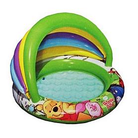 Бассейн надувной детский Intex 57424 «Вини пух» (102х13 см)