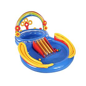 Комплекс детский игровой надувной «Радуга» Intex 57453 (297x163x135 см)