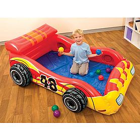 Фото 1 к товару Комплекс детский игровой надувной  «Гонщик» Intex 48665 (Интекс)