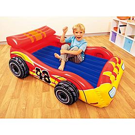 Фото 2 к товару Комплекс детский игровой надувной  «Гонщик» Intex 48665 (Интекс)