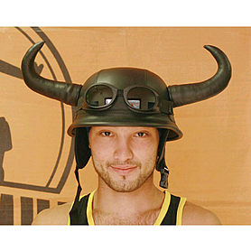 Шлем «Херр майор» с рогами Экспедиция