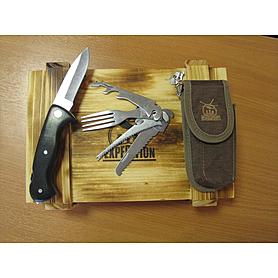 Фото 2 к товару Набор для выживания в подарочной упаковке Экспедиция