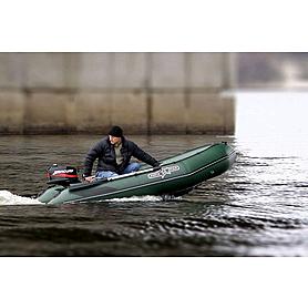 Фото 5 к товару Лодка надувная моторная килевая Aquastar K320 зеленая