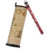 Калейдоскоп плоский со вставкой (красный) Экспедиция - фото 1