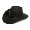 «Шляпа ковбойская» черная  Экспедиция с орнаментом - фото 2