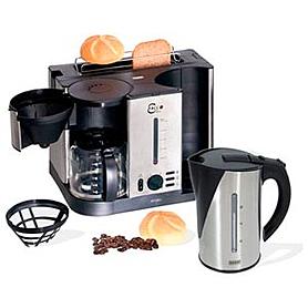 Фото 2 к товару Кухонный комплекс (тостер, чайник и кофеварка) Eco 3 в 1 Beem