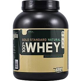 Протеин Optimum Nutrition Natural Whey Gold  (2,268 кг)