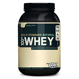 Фото 1 к товару Протеин Optimum Nutrition Natural Whey Gold (907 г)
