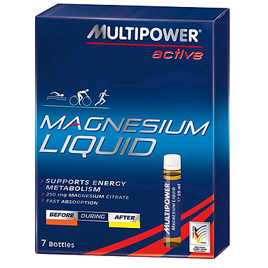 Цитрат магния Multipower Magnesium Liquid (7х25 мл)