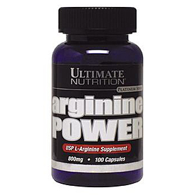 Фото 1 к товару Аминокомплекс Ultimate Nutrition Arginine power (100 капсул)