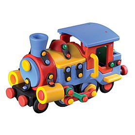Фото 1 к товару Конструктор Mic-o-Mic Locomotive локомотив