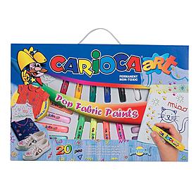 Набор объемных красок для тканей Carioca