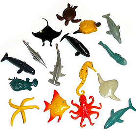 Фото 2 к товару Набор Sea Animals Морские животные