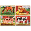 Набор пазлов «Животные на ферме» Melissa & Doug - фото 2