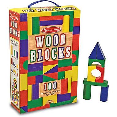 Набор из 100 кубиков Melissa & Doug