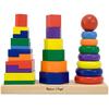 Набор «Геометрическая пирамидка» Melissa & Doug - фото 2