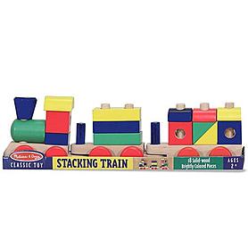 Фото 2 к товару Поезд с кубиками Melissa & Doug