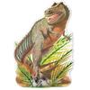 Пазл напольный «Динозавр T-rex» Melissa & Doug - фото 2