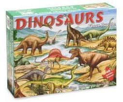 Фото 1 к товару Пазл «Мир динозавров» Melissa & Doug