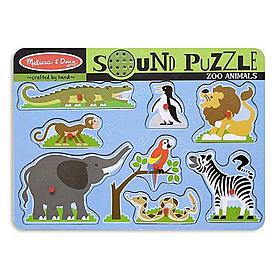 Пазл звуковой «Зоопарк» Melissa & Doug