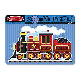 Фото 1 к товару Пазл звуковой «Поезд» Melissa & Doug