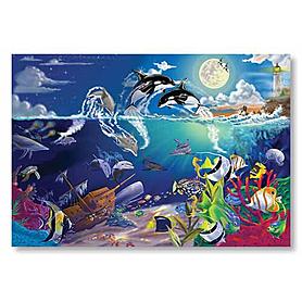 Фото 1 к товару Пазл «Подводная мозаика» 200 элементов Melissa & Doug