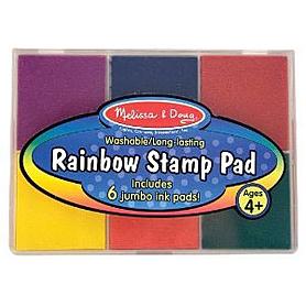 Набор разноцветных чернил для штампов Melissa & Doug