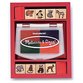 Набор штампов «Малыши зоопарка» Melissa & Doug