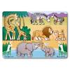 Рамка – вкладыш «Угадай африканское животное» Melissa & Doug - фото 1