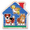 Пазл формовой «Домашние животные» Melissa & Doug - фото 1