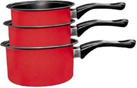 Фото 1 к товару Кастрюли и ковшики Milk pan red