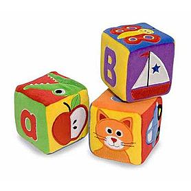 Фото 1 к товару Набор мягкие кубики Melissa & Doug