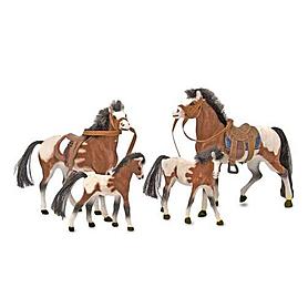 Фото 1 к товару Набор «Семья лошадей» Melissa & Doug