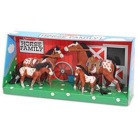 Фото 2 к товару Набор «Семья лошадей» Melissa & Doug