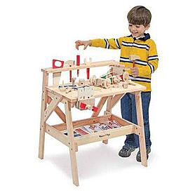 Фото 1 к товару Столярный детский стол Melissa & Doug