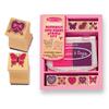 Набор штампов «Бабочки и сердечки» Melissa & Doug - фото 1
