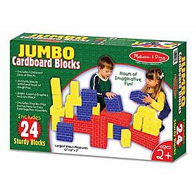 Фото 1 к товару Большие картонные кубики 24 шт. Melissa & Doug