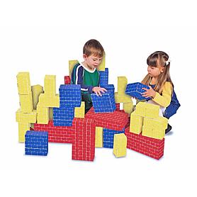 Фото 2 к товару Большие картонные кубики 40 шт. Melissa & Doug